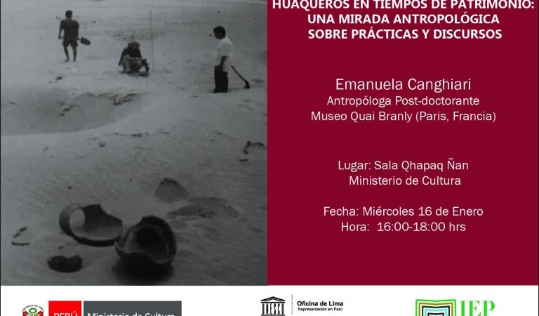 Huaqueros en tiempo de patrimonio: una mirada antropológica sobre prácticas y discursos