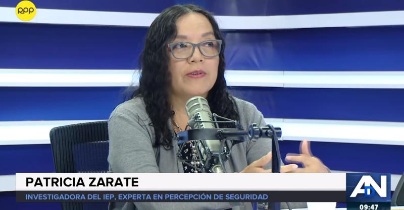 [Entrevista] Patricia Zárate en RPP- Inseguridad Ciudadana