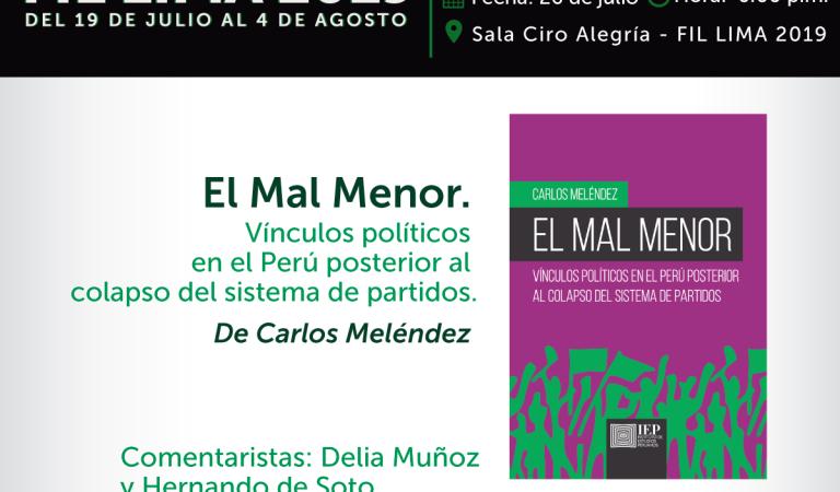 El mal menor, de Carlos Meléndez