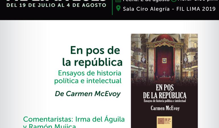 """""""En pos de la República. Ensayos de historia política e intelectual"""""""