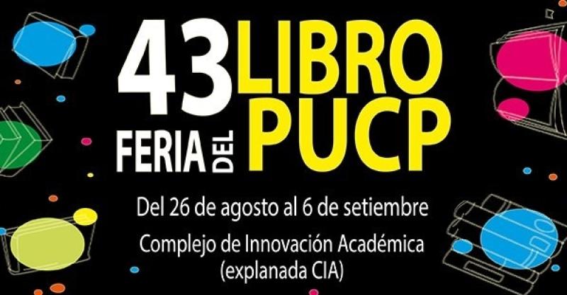 Instituto de Estudios Peruanos participa de la 43 Feria del Libro PUCP