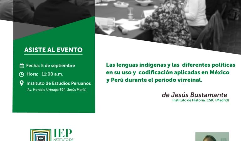Las lenguas indígenas y las diferentes políticas en su uso y codificación aplicadas en México y Perú durante el periodo virreinal