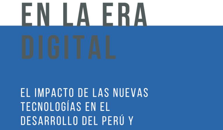 """Seminario América Latina en la era digital. El impacto de las nuevas tecnologías en el desarrollo del Perú y estrategias de investigación para la política digital en la región"""""""