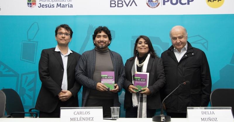 """[Vídeo] """"El mal menor. Vínculos políticos en el Perú posterior al colapso de partidos"""""""
