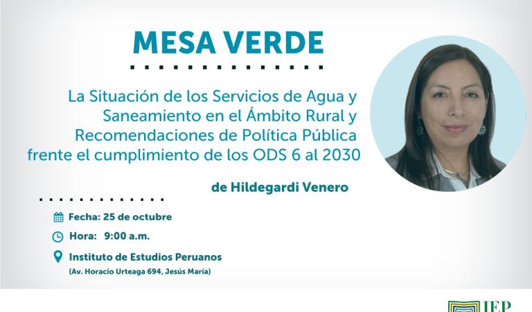 Perú Rural: Avances y Desafíos del Sector Saneamiento al 2030