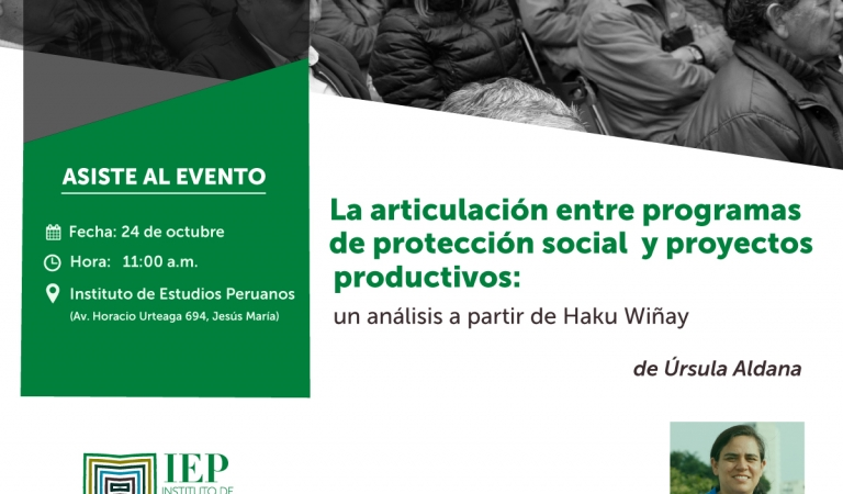 La articulación entre programas de protección social y proyectos productivos: un análisis a partir de Haku Wiñay