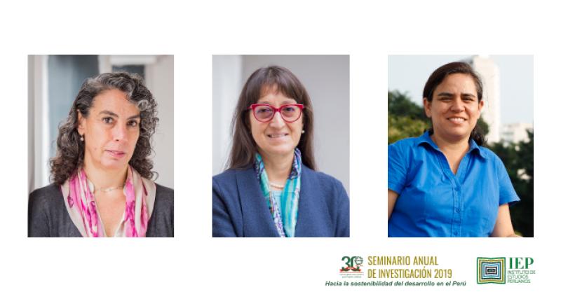 Investigadoras del IEP participan del XXX Seminario Anual de Investigación CIES 2019