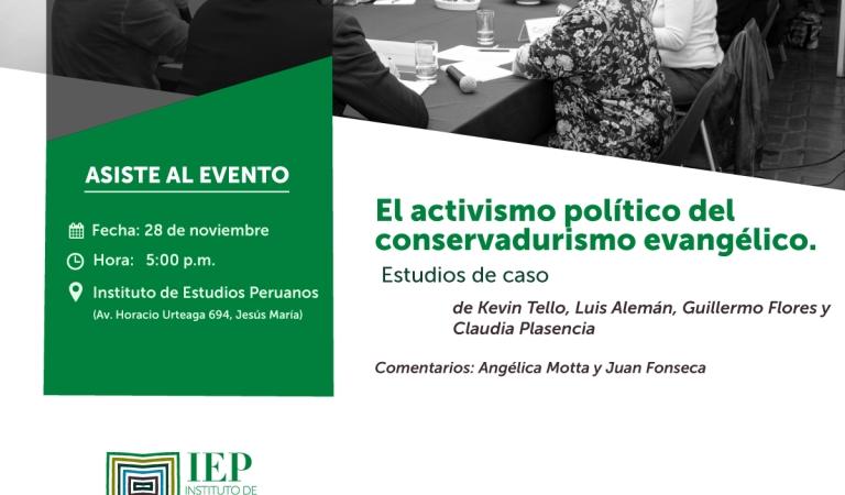 El activismo político del conservadurismo evangélico. Estudios de caso.