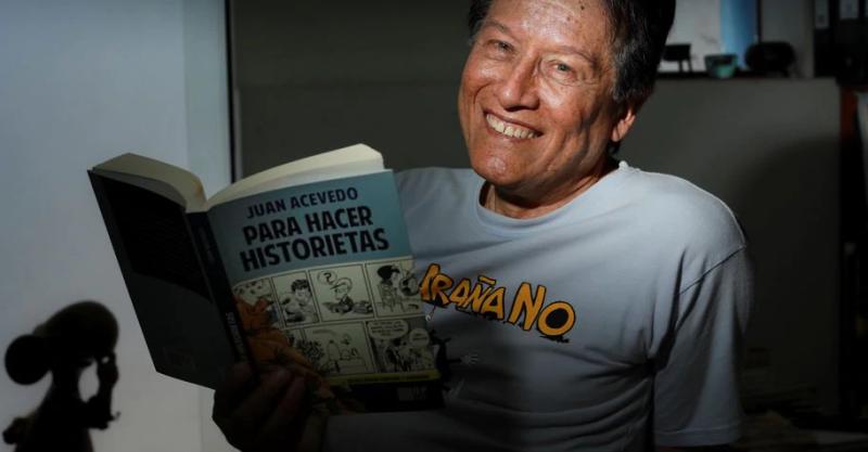 """[ENTREVISTA] Juan Acevedo: """"Hay que salir del analfabetismo visual"""""""
