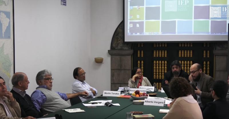 """[Video] Seminario """"Cuarenta años de Clases, Estado y nación en el Perú"""""""