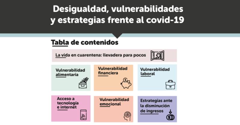 El IEP presenta informe sobre desigualdad y vulnerabilidades frente al covid-19