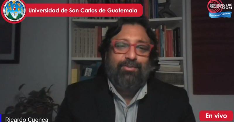 Ricardo Cuenca participa de la conferencia virtual La Formación Ciudadana en Tiempos de Coronavirus