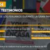 """Resultados del concurso de testimonios """"La vida cotidiana de los peruanos durante la Gran Pandemia"""""""