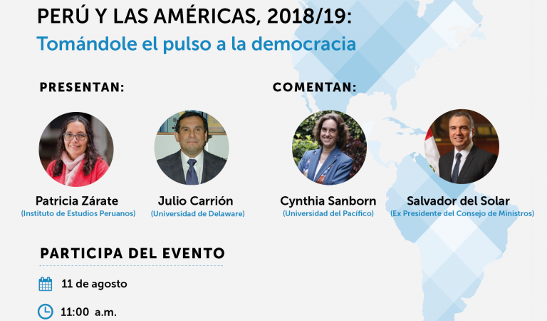 [PRESENTACIÓN] VII Ronda del Barómetro de las Américas en Perú: Cultura política de la democracia en Perú y en las Américas, 2018/19