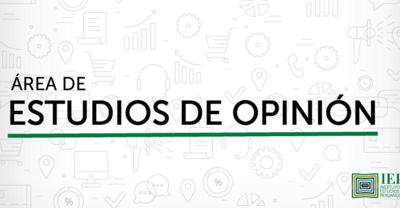 Área de Estudios de Opinión del IEP: Preguntas Frecuentes