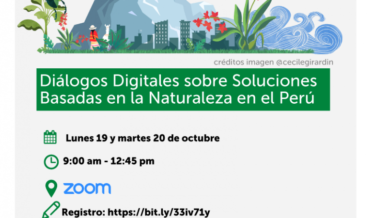 Diálogos Digitales sobre Soluciones Basadas en la Naturaleza en el Perú