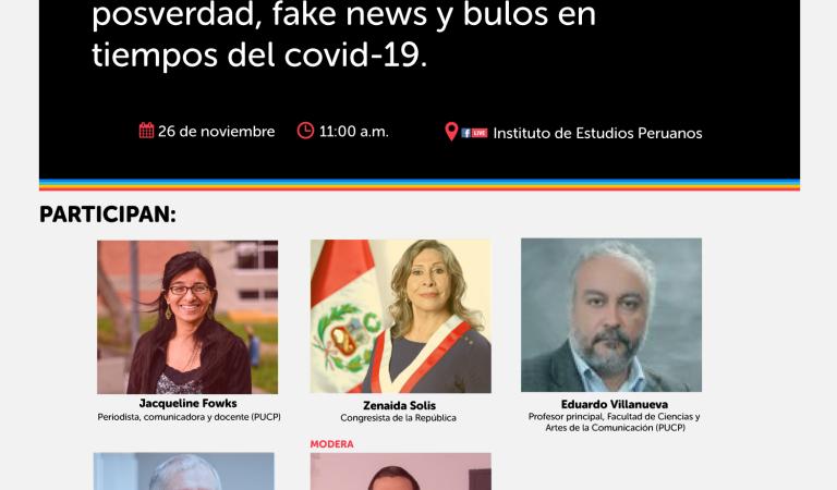 El poder de la (des)información: posverdad, fake news y bulos en tiempos del covid-19