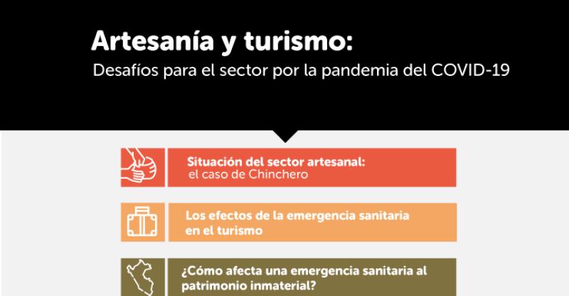 IEP organiza ciclo temático sobre los desafíos del sector artesanía y turismo ante la pandemia por Covid-19