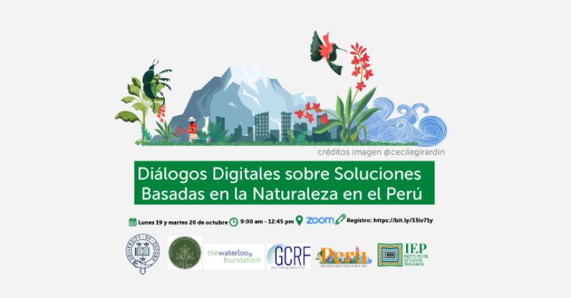 """[VIDEO] Sesiones de """"Diálogos digitales sobre Soluciones basadas en la Naturaleza"""""""