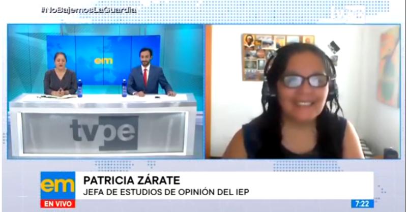 """[ENTREVISTA] Patricia Zárate: """"Hay un bolsón grande de personas que aún no decide su voto"""""""