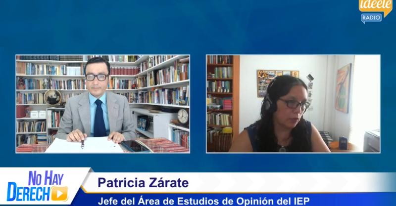 """[ENTREVISTA] Patricia Zárate: """"El malestar de no querer votar por ningún candidato está cediendo"""""""