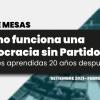 [CRONOGRAMA] Ciclo de mesas: ¿Cómo funciona una  Democracia sin Partidos? Lecciones aprendidas 20 años después