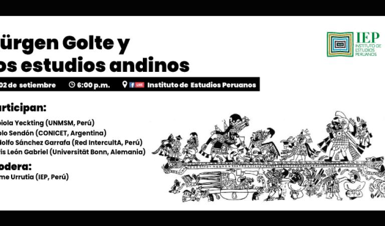 [HOMENAJE] Jürgen Golte y los estudios andinos