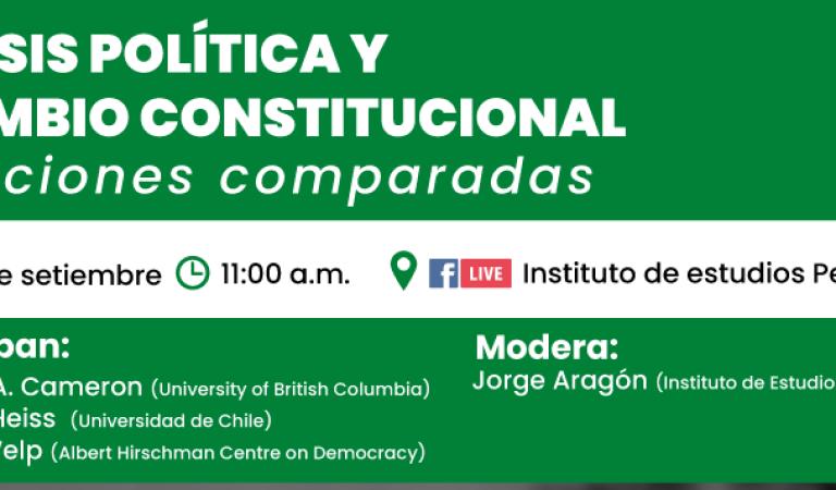 Crisis política y cambio constitucional. Lecciones comparadas