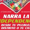 """2do Concurso de ensayos """"Narra la independencia desde tu pueblo, tu distrito o tu ciudad"""""""