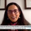 [ENTREVISTA] Sandra Carrillo: Es urgente retornar a las colegios con todas las medidas necesarias.