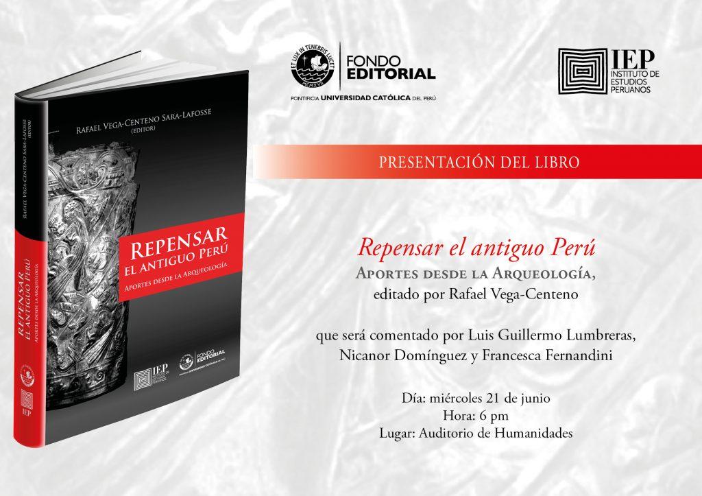 Invitacion virtual Repensar el antiguo Peru