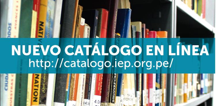 Nuevo catálogo en línea