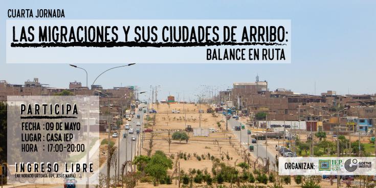 """Cuarta Jornada """"Las migraciones y sus ciudades de arribo"""" (2018-2019)"""