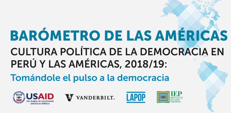 Presentación del Barómetro de las Américas 2018/19