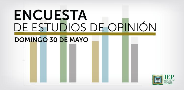 Encuesta de Estudios de Opinión - 30 de mayo