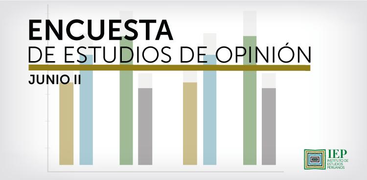 Encuesta de Estudios de Opinión - junio II 2021