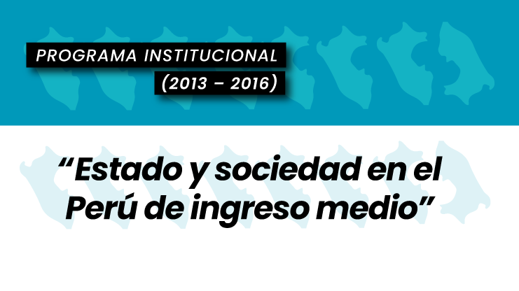 Estado y sociedad en el Perú de ingreso medio