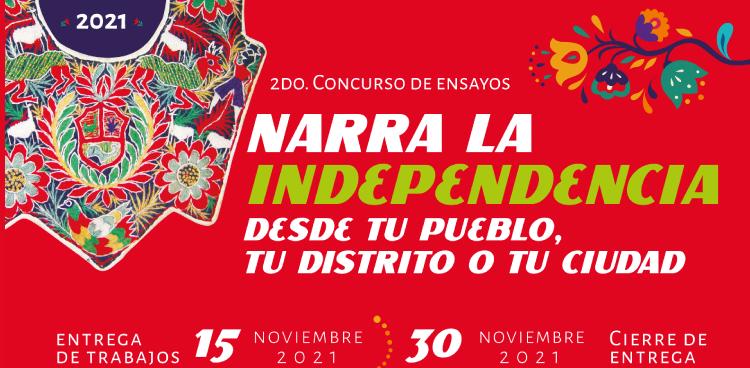 Narra la Idependencia desde tu pueblo, tu distrito, o tu ciudad